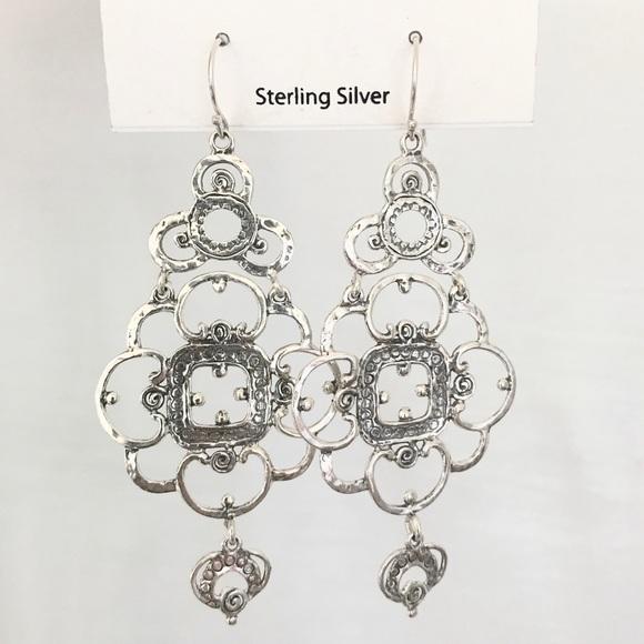 26f9ad32e noa zuman Jewelry | Sterling Silver Dangle Earrings | Poshmark